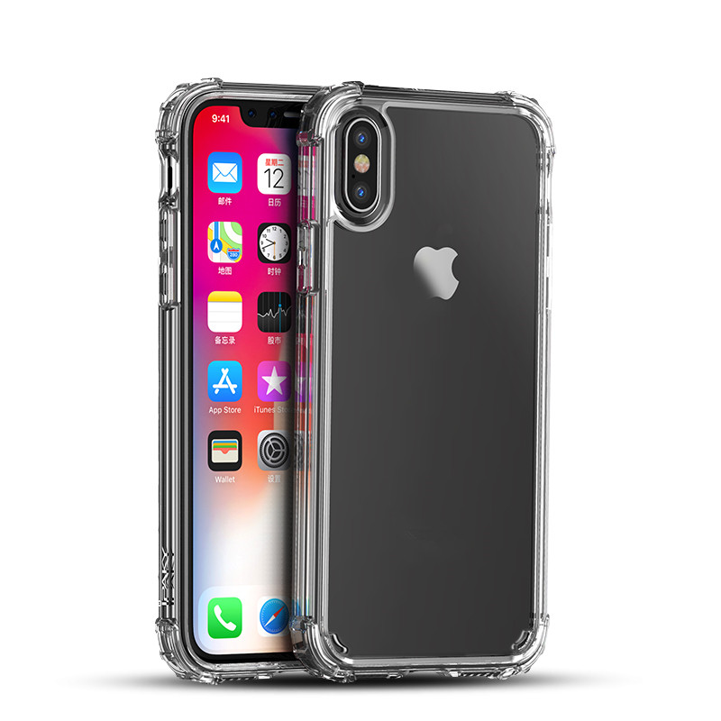 Amazon Hot Selling Phone Accessories Clear <strong>Case</strong> for iPhone X <strong>Case</strong>