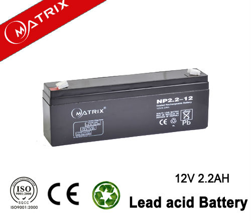 Maintenance free EPS 12v 2.3ah Sealed lead-acid battery