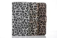 mobile covers leopard pattern wallet leather case with stand for iphone 6s