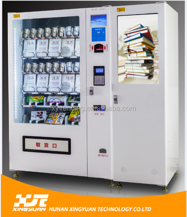 Professionally custom made book vending machines in schools