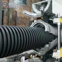 Hot Sale HDPE PVC Double Wall Corrugated Pipe Extrusion Machine/Line
