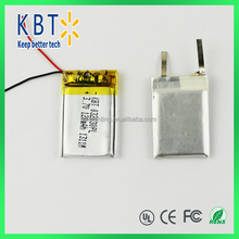 032030PL polymer lithium battery 3.7v lithium battery 120mAh rechargeable lithium battery