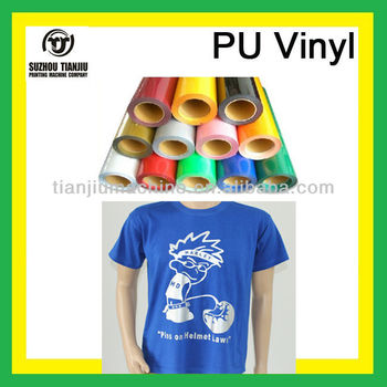 PU heat transfer cutting plotter vinyl