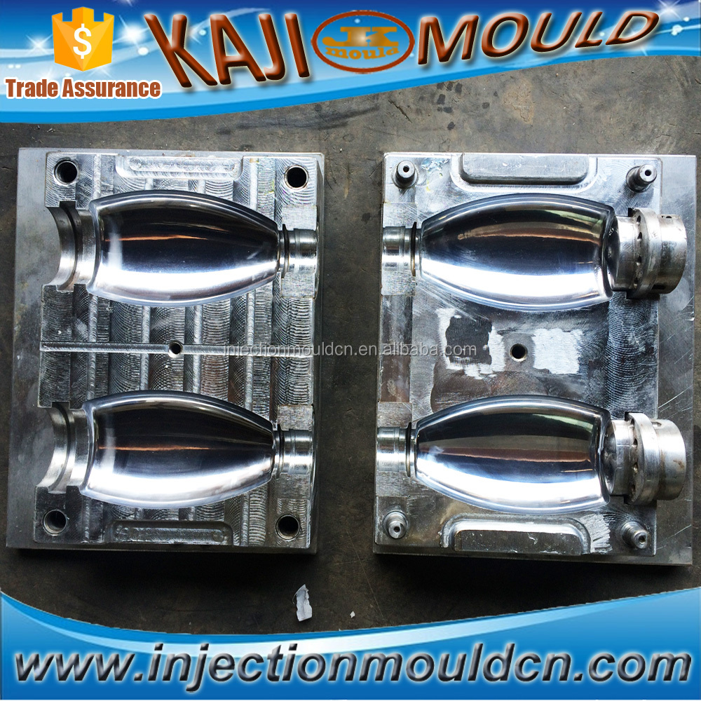 2 cavity PET plastic bottle blow mould