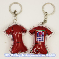 Wholesale promotional World Cup Key chain