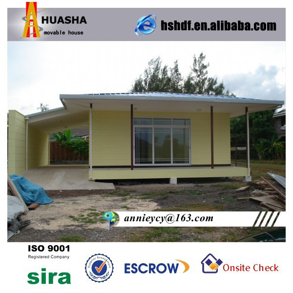 High-qualified prefabricated two layers movable villa architectural design