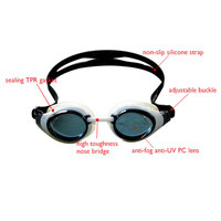 Wholesale best quality swimming googles for kids