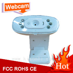 hot selling wb camera pc webcam with light free driver low price