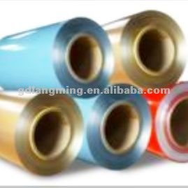 AA1100 AA3003 AA3005 Coated Aluminum Coil with advanced 4-wheel roller coating technology