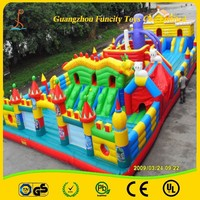 Most Funny Outdoor Inflatable City Games/Fun City Amusement Park/Inflatable Bouncer House