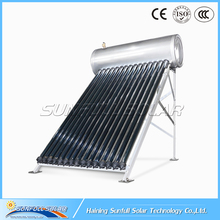Compact pressurized Solar Water with heat pipe 150 Liters