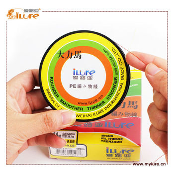 Wholesale 4 Strands 100m Spectra Braid Long Fishing Line