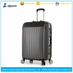 hot sale waterproof suitcase ABS+PC travel trolley aluminum frame luggage
