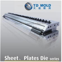 PVC crust foamed board sheet mould