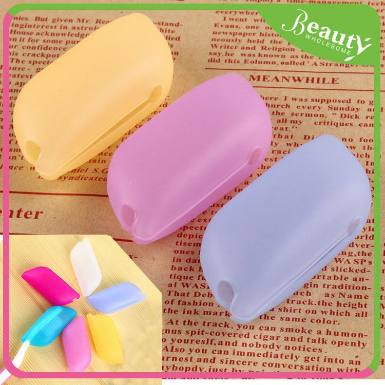 Foldable toothbrush cap cover H0T5b keep clean toothbrush caps