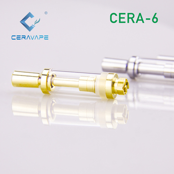 2019 newest vaporizer 0.5ml custom logo 510 thick oil metal round tip rechargeable vape pen   for Cera-006