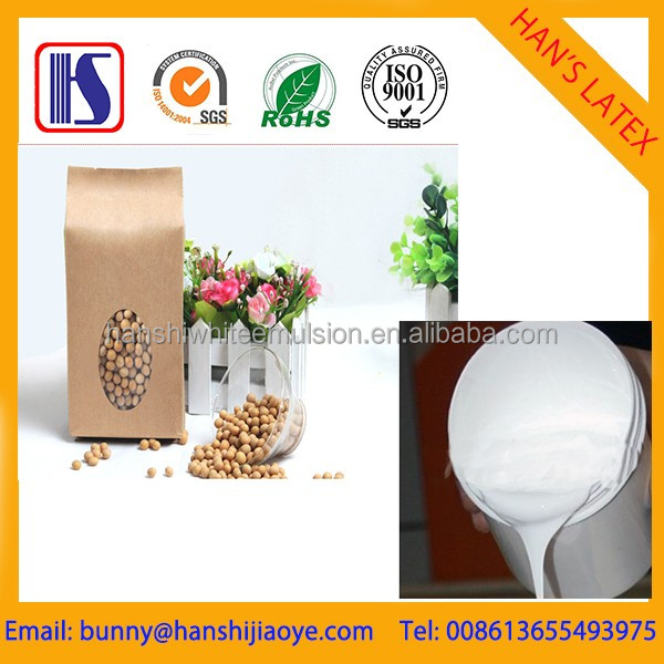 Han's high quality water based cold lamination glue for paper with plastic film