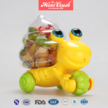 Nata De Coco Coconut Assorted Fruit Jelly In Mini Crab Toy Jar