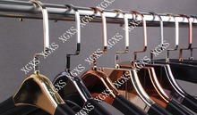 PU Wrapped Luxury Clothes Hanger