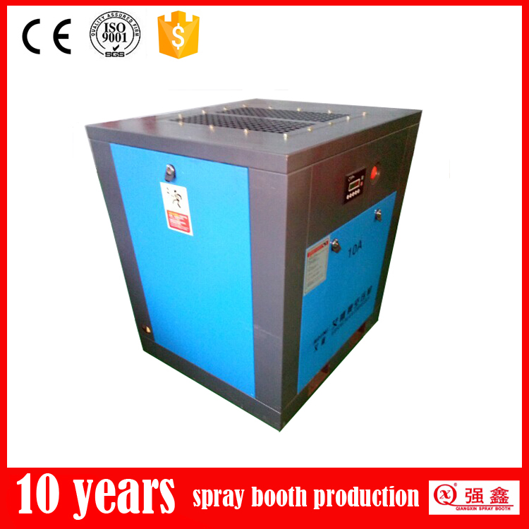10HP Silent Type Screw Air Compressor For Sale