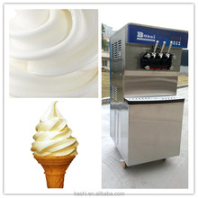 All in one touch ice cream machines table top soft service cream machine soft serve