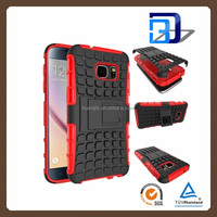 Armor TPU PC kickstand shockproof mobile accessories cover case for samsung galaxy j2