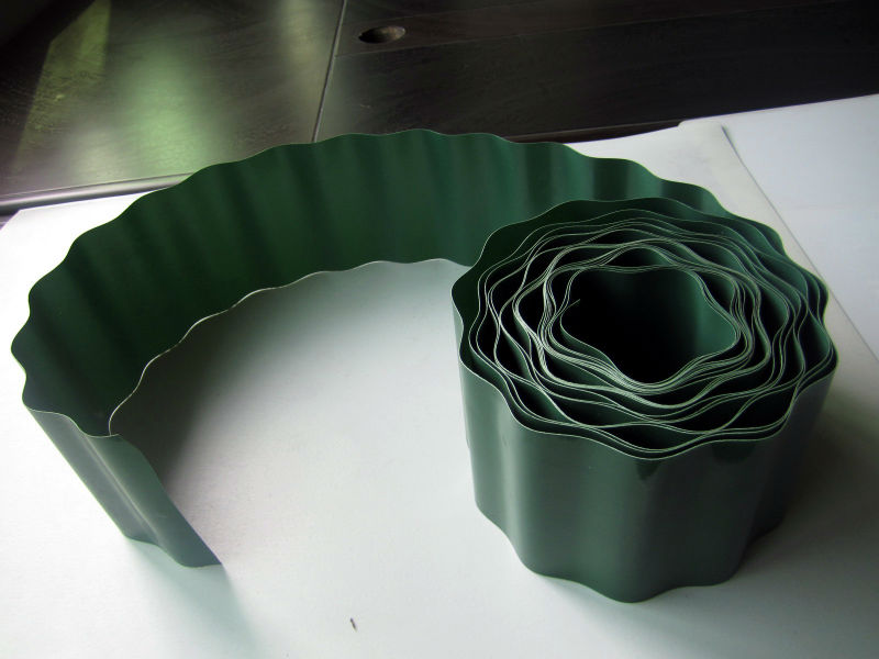 hot selling plastic lawn edging fence