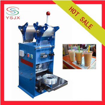 boba tea cup sealing machine