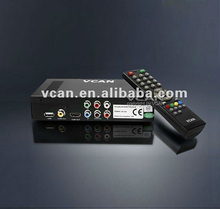 Satellite receiver with internet connection DVB-T2009HD-608 portable HD Car digital DVB-T Receiver with 250KM/Hour