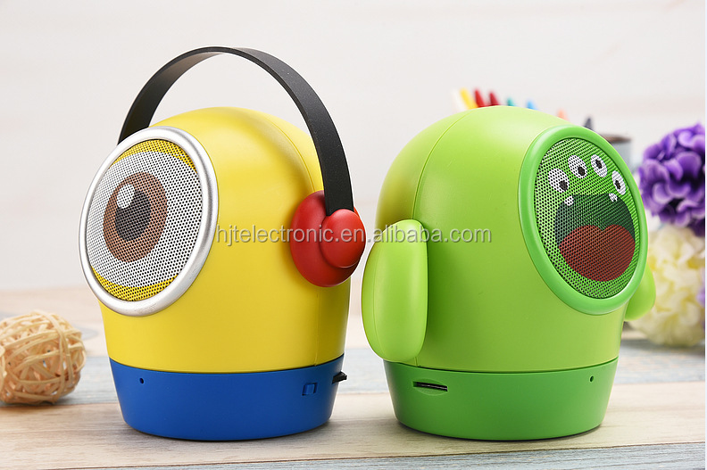 The new style mini speaker,robot subwoofer voice box
