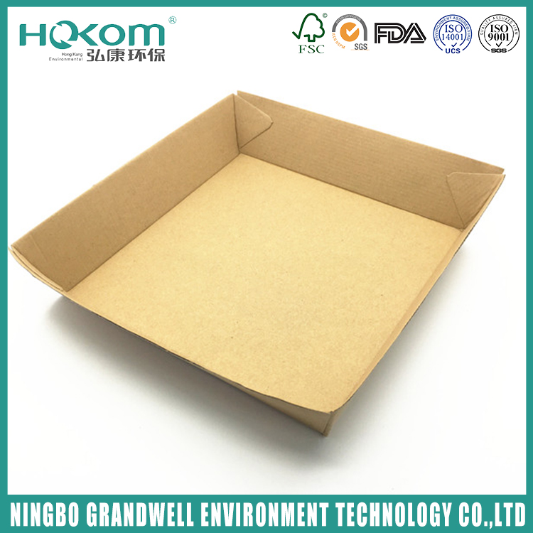 Economical Custom Design Ovenable Paper Trays