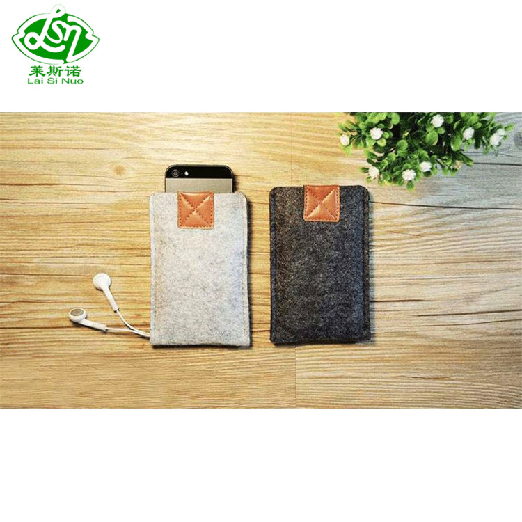 Hot selling cheap custom felt mobile phone bags and cases and cover