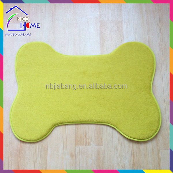Bone shape good quality crazy Selling acrylic clear pet bed with cushion
