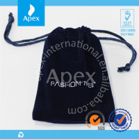Promotional drawstring gift velvet bag