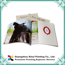 Full Color Glue Binding Printing Booklet Brochure Leaflet Catalogue Book Magazine