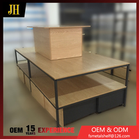 4 Way Mdf Laminated Display Stand And Hot Sale Cosmetic Mdf Display