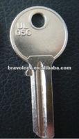 brass iron blank key UL050