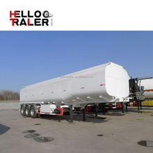 Fuel tanker For Oil Petrol Diesel Gasoline Transportation Made From Carbon Steel With 40000 Liters