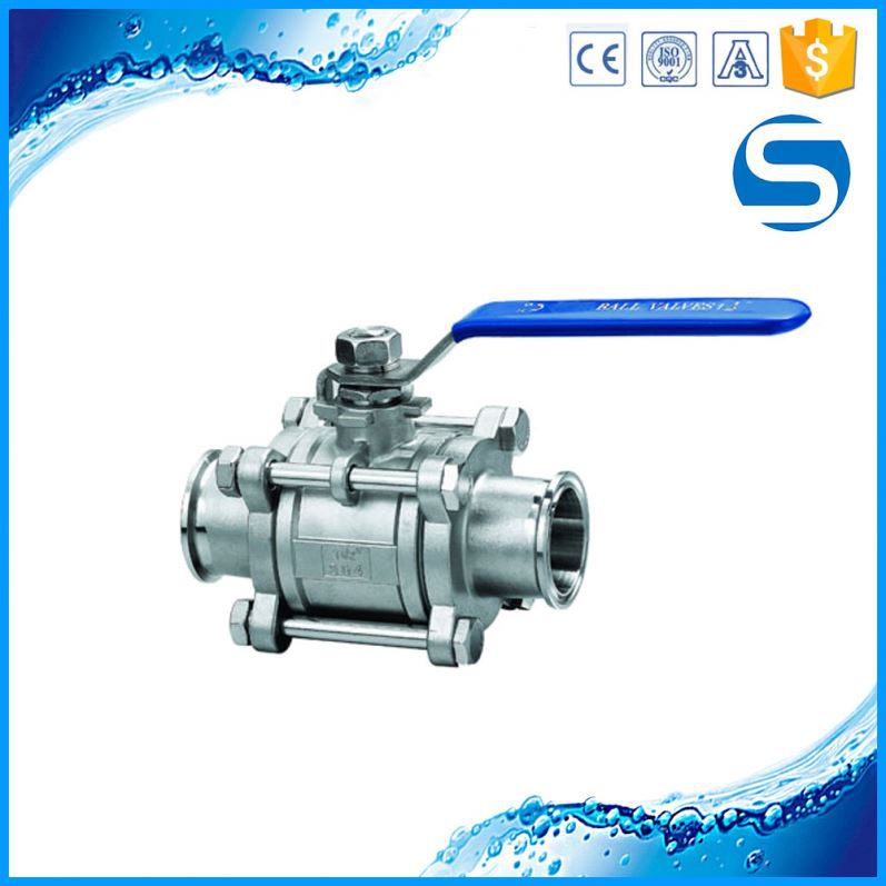 Perfect quality sanitary hydraulic stainless steel ball valve