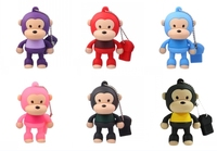 Promotion Gifts Cartoon Monkey USB Drives Flash Memory 4gb 8gb