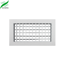 Hot-sale Double Deflection aluminum louver supply air grille