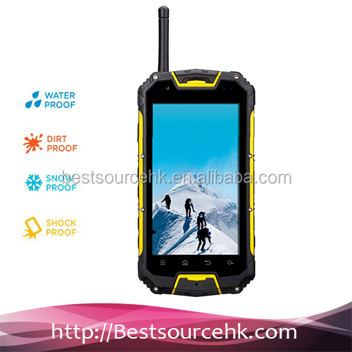 2014 Best Selling MTK6589 Quad Core IP68 8MP Camera OEMs Custom Android Mobile Phone