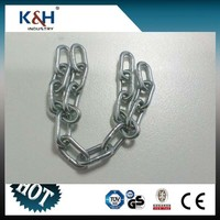 Small Size DIN 5685 A Round Short Link Chain 3*16