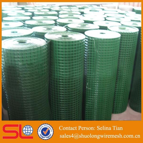 high quality low price plastic coated bird cage fence wire mesh