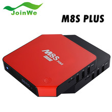 Promotion!Android tv box octa core M8s Plus Quad Core 2gb 16gb wireless keyboard and mouse