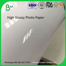 250GSM 300GSM 350GSM one side coated high glossy photo printing paper