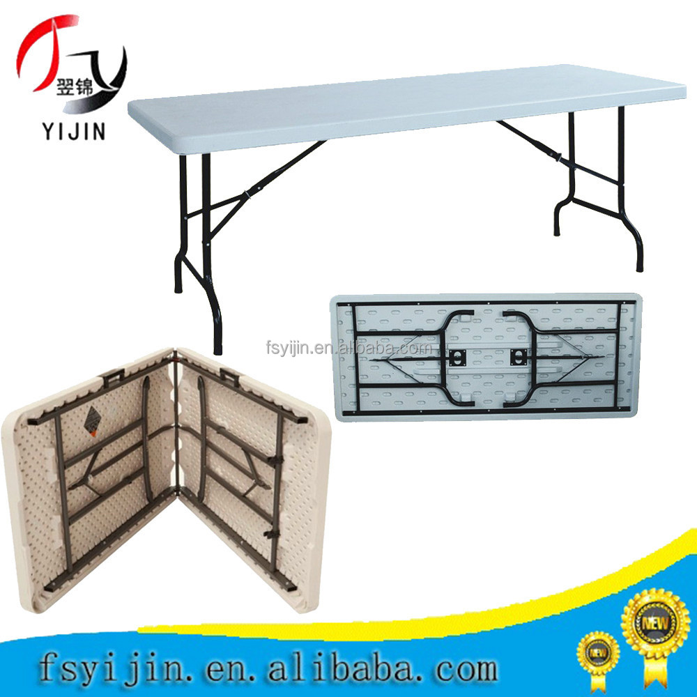 YJ-Z122 4FT Fold in Half Table (YIJIN)