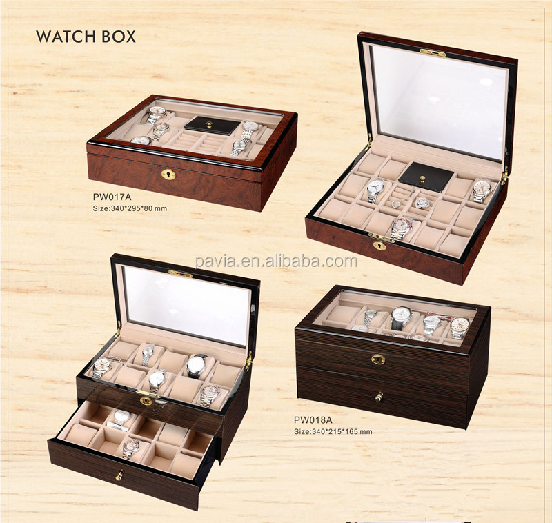 PWB01A luxury customized gift packaging boxes wooden wine box