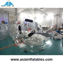 Transparent color Inflatable Sphere/Round Helium Balloon for hung / flying