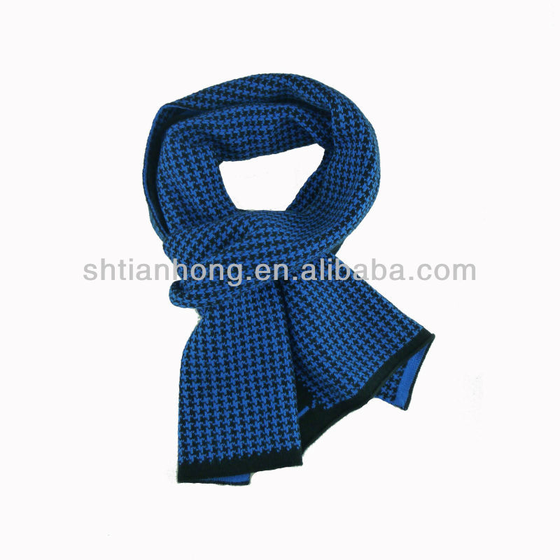 winter fashion men scarf knitting machine